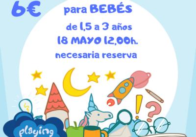 cartel cuento bebñes 18 mayo