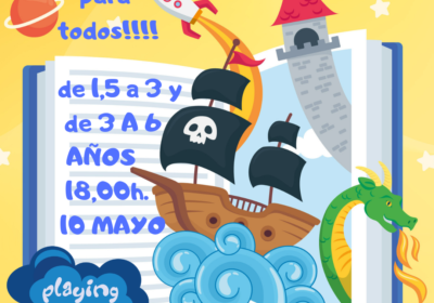cuento playing 10 mayo